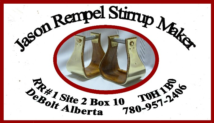 Jason Rempel Stirrup Maker